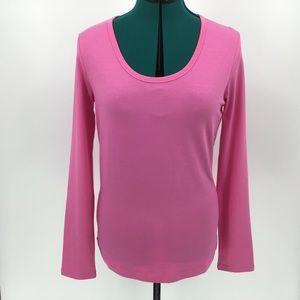 Yest Yamara Basic Cotton Jersey Long Sleeve Tee 10